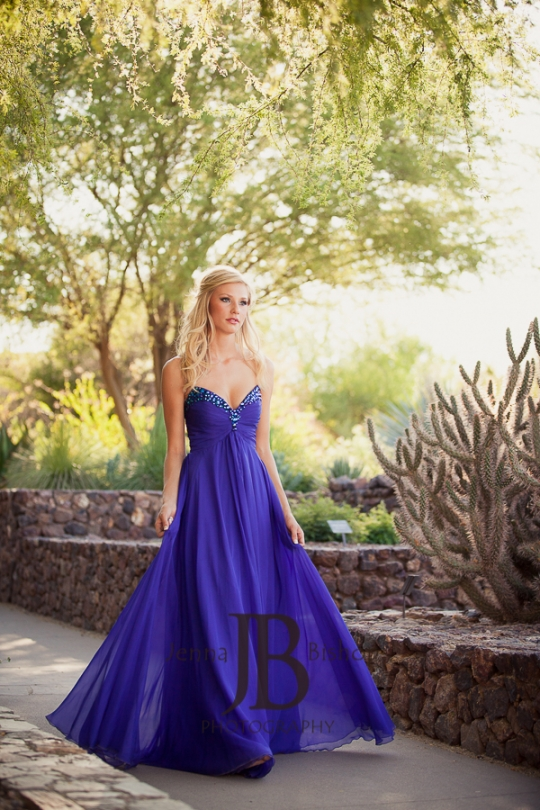 Julia: Red Mountain Senior Prom - Mesa Senior Photographer