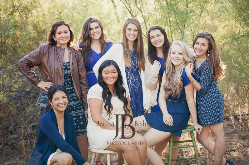 Xavier Prep Seniors - Phoenix Senior Photographer