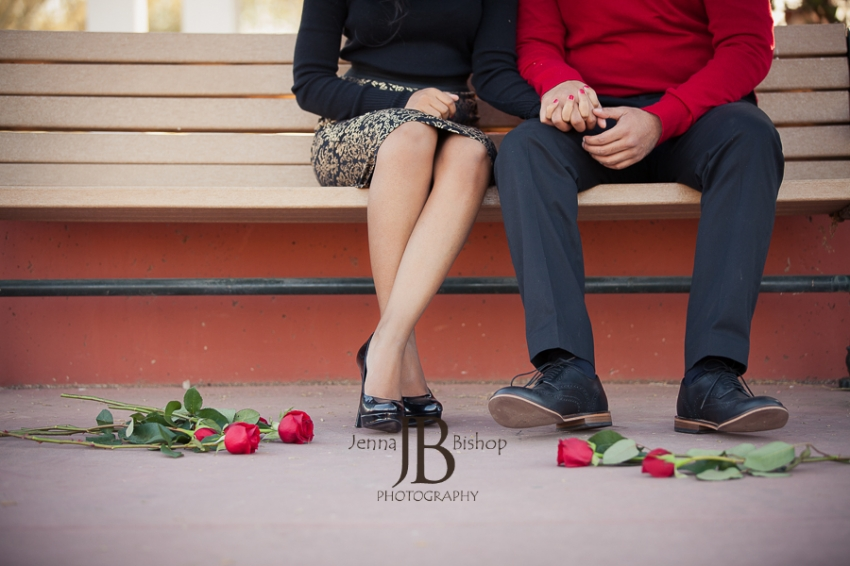 Unique Engagement Photos Gilbert AZ