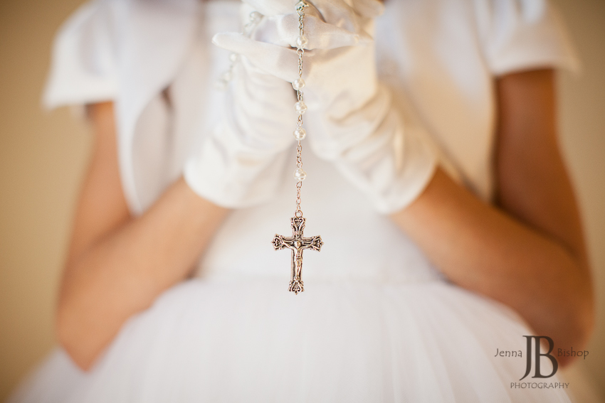 First communion and confirmation rosary
