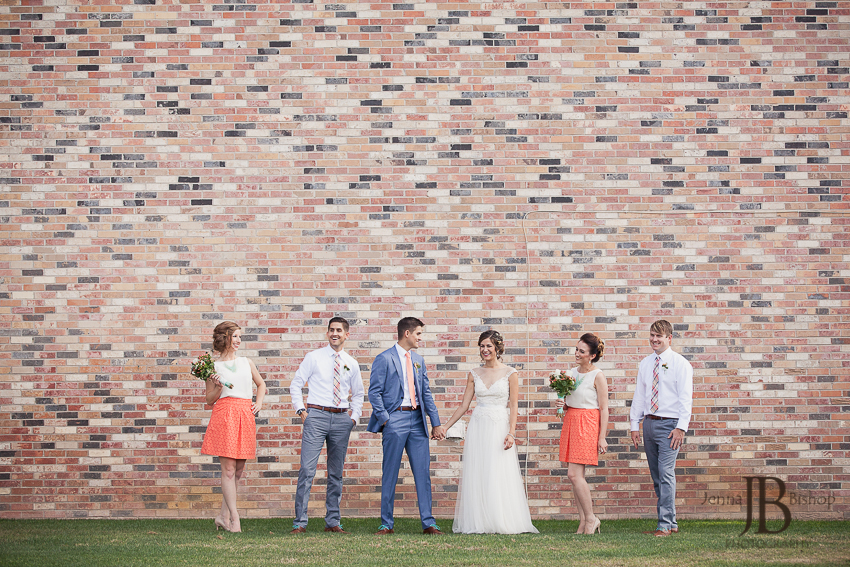 wedding photographers in queen creek bridal party