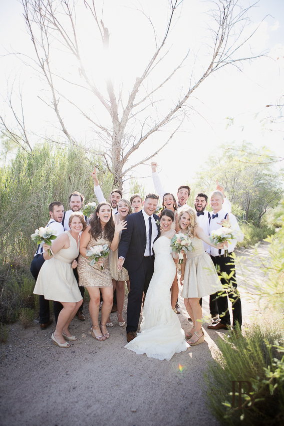 wedding party phoenix arizona