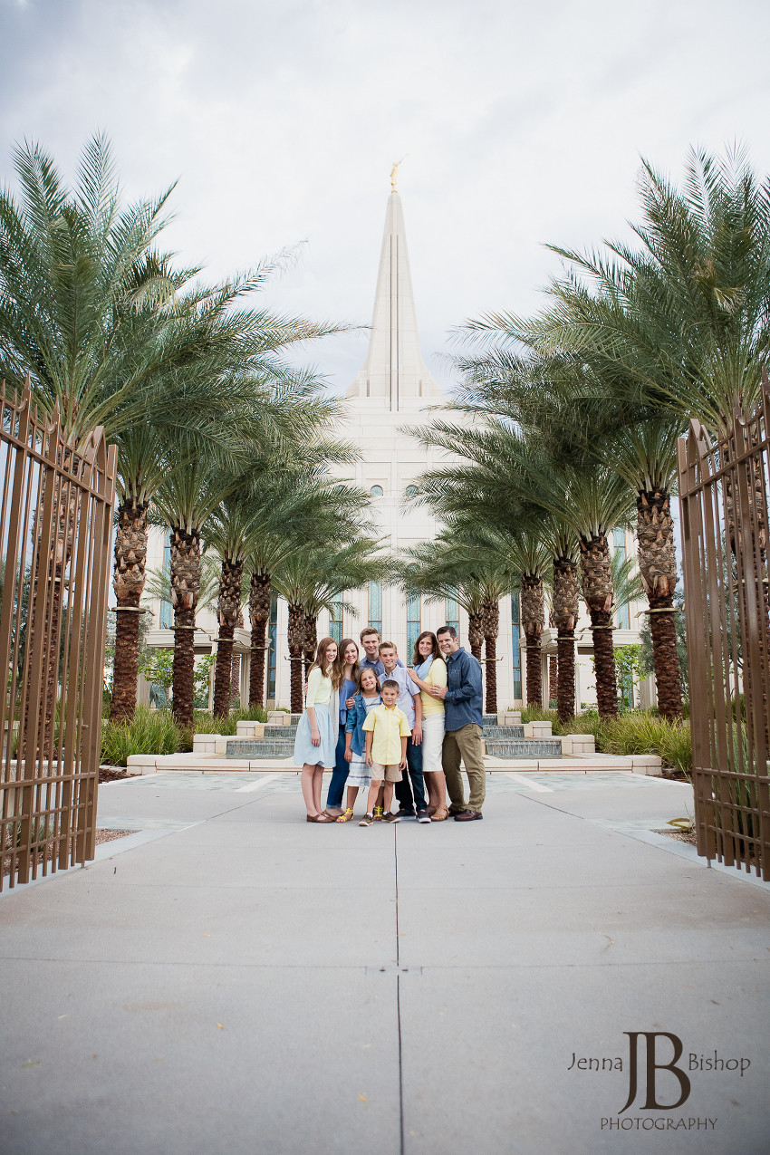 LDS family photographers gilbert mesa arizona