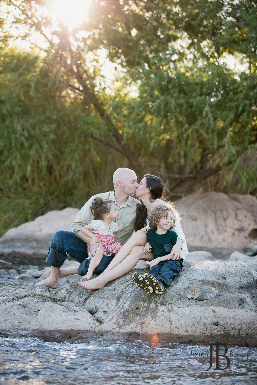 creative family photographers in gilbert