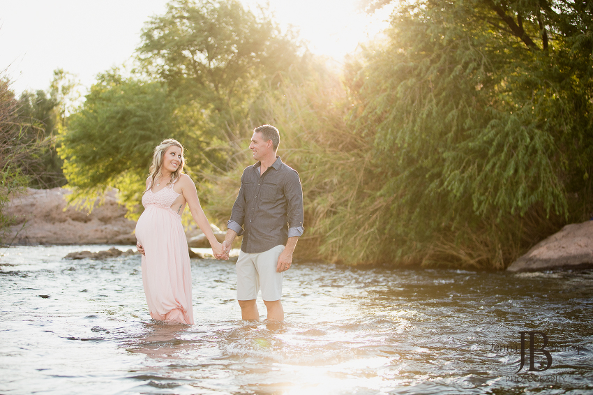 scottsdale maternity photos